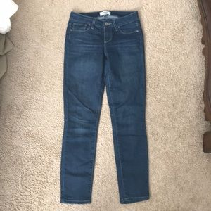 Paige jeans size 24 vertigo crop style